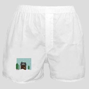 Log Cabin Boxer Shorts