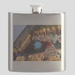 German Christmas Markets Flask