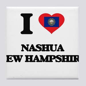I love Nashua New Hampshire Tile Coaster