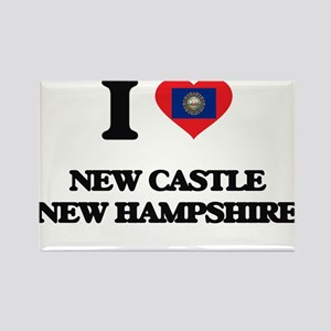 I love New Castle New Hampshire Magnets