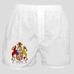 Scarlett Family Crest Boxer Shorts
