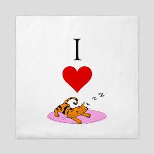 I Love Sleep Queen Duvet