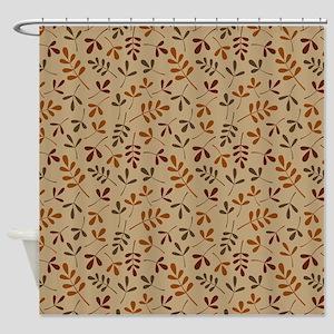Leaves II Rpt Ptn (Fall) Shower Curtain