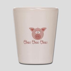 Pig Oink Shot Glass