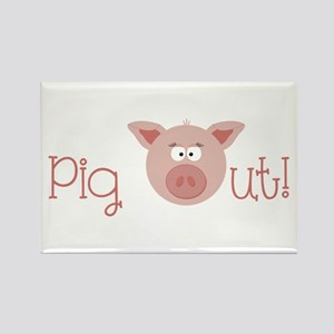 Pig Out Magnets