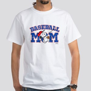 Snoopy Baseball Mom T-Shirt