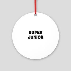 Super Junior Ornament (Round)