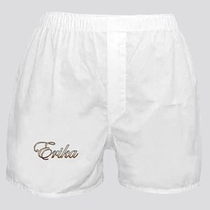 Gold Erika Boxer Shorts