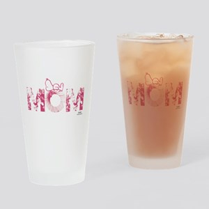 Snoopy Mom Drinking Glass