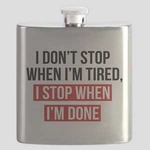I Stop When I'm Done Flask