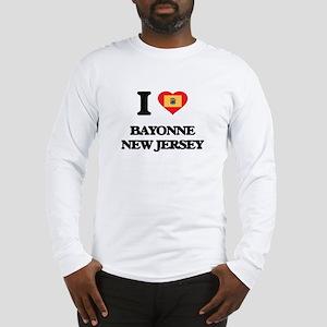 I love Bayonne New Jersey Long Sleeve T-Shirt
