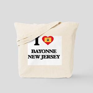 I love Bayonne New Jersey Tote Bag