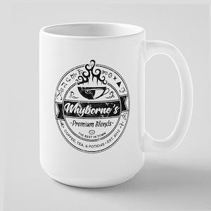 Whyborne's Coffee 15 oz Ceramic Large Mug