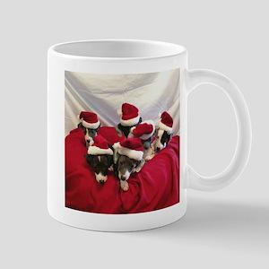Santa Pups Mugs