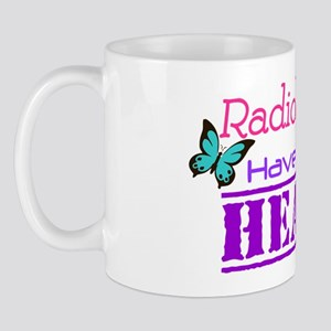 Radiologists Have a Big Heart Mug