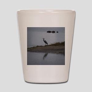 Great Blue Heron Shot Glass