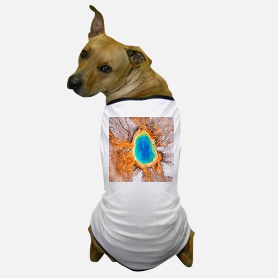 Grand Prismatic Springs Yellowstone NP Dog T-Shirt