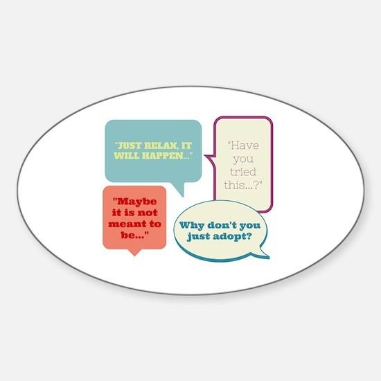 Advice Sticker (Oval)