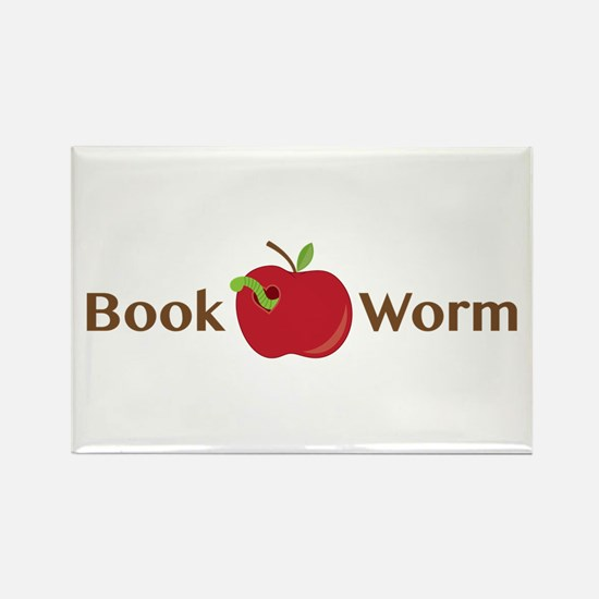 Book Worm Magnets