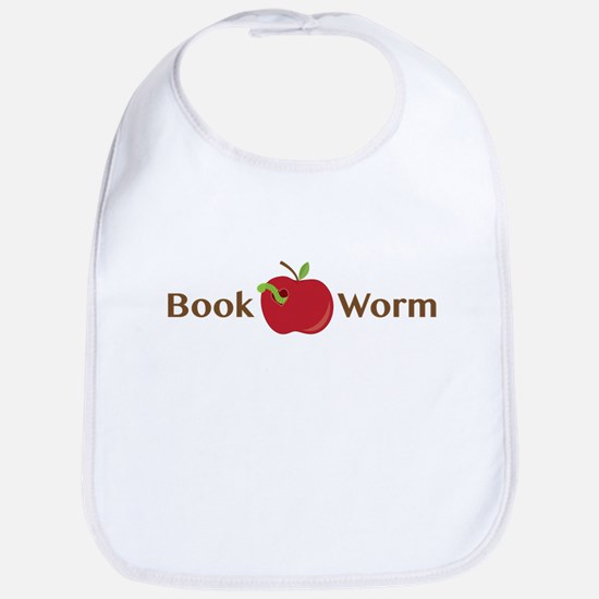 Book Worm Bib