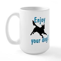 Play With Your Dog Large Mug