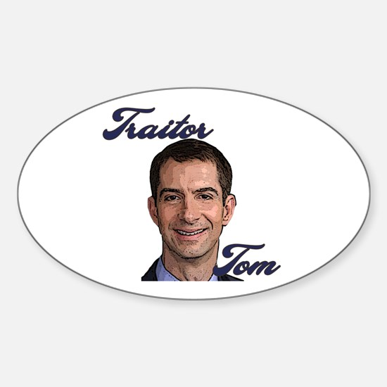 Traitor Tom Sticker (Oval)