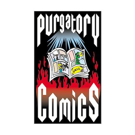 Purgatory Comics Rectangle Sticker