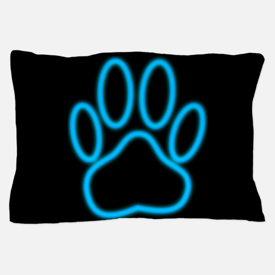 Cute Dog paw Pillow Case