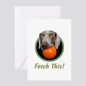 June--Fetch This! Greeting Card