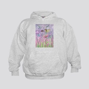 A Friendly Encounter Cute Fairy and La Kids Hoodie