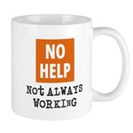 Not Always Working Mug Mugs
