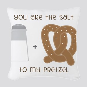 You Are The Salt Woven Throw Pillow