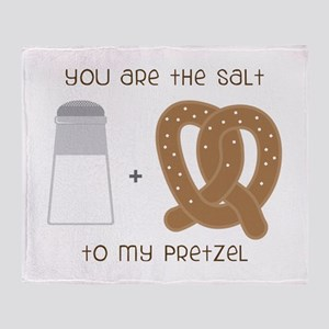 You Are The Salt Throw Blanket