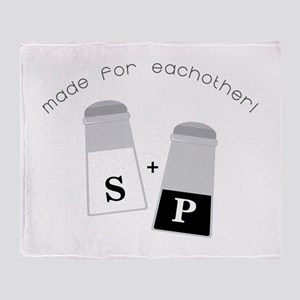 Made For Each Other Throw Blanket