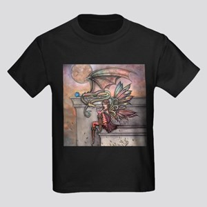 The Enchanted Fairy and Dragon Illustratio T-Shirt