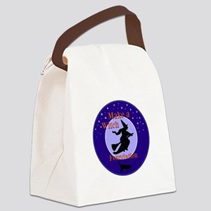 Make a Witch Foundation Canvas Lunch Bag