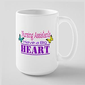Nursing Assistants Have a Big Heart Mugs