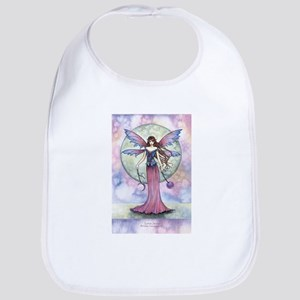 Luna Jewel Celestial Fairy Fantasy Art Illustr Bib