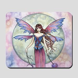 Luna Jewel Celestial Fairy Fantasy Art I Mousepad