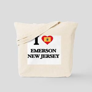 I love Emerson New Jersey Tote Bag