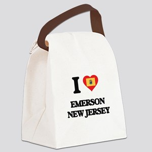 I love Emerson New Jersey Canvas Lunch Bag
