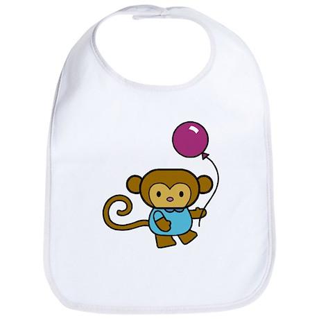 Bobo Monkey Bib