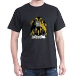 Salmon Family Crest Dark T-Shirt