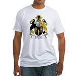 Salmon Family Crest Fitted T-Shirt