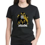 Salmon Family Crest Women's Dark T-Shirt