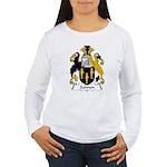 Salmon Family Crest Women's Long Sleeve T-Shirt