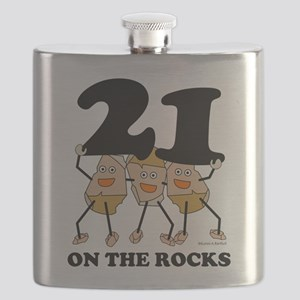 21 on the Rocks Flask