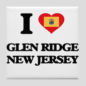 I love Glen Ridge New Jersey Tile Coaster
