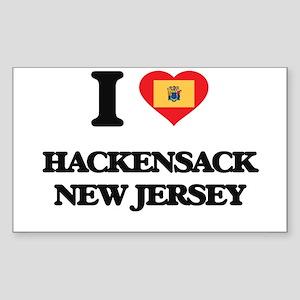 I love Hackensack New Jersey Sticker