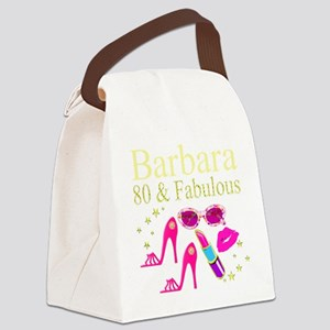 DAZZLING 80TH Canvas Lunch Bag